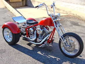 softail trike kit review of frankensttein trikes