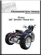 H-D dyna trike Conversion install manual