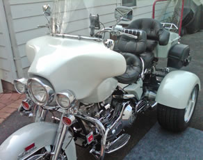 electraglide trike conversion trike kit happy customer