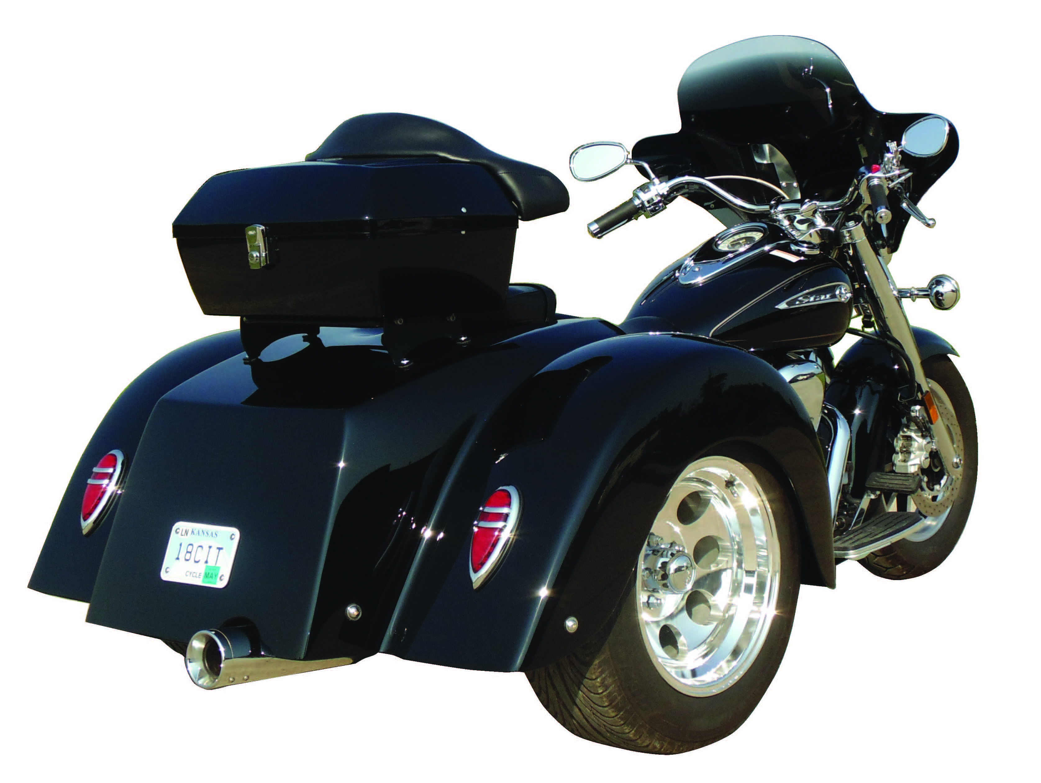yamaha road star trike kit