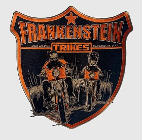 Frankenstein Trikes trailer Hitch