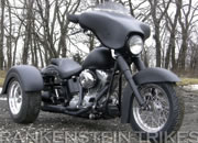 Frankenstein Trike kit on 2007 Softail pic