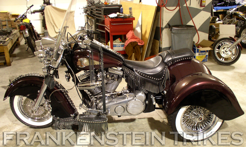 Custom Cable Kits For Motorcycles : Frankenstein trikes harley davidson trike kits