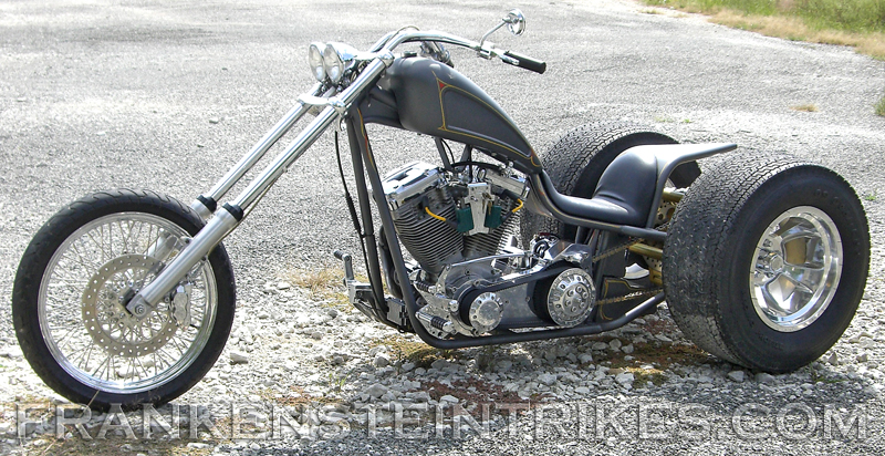Franks chopper trike photos