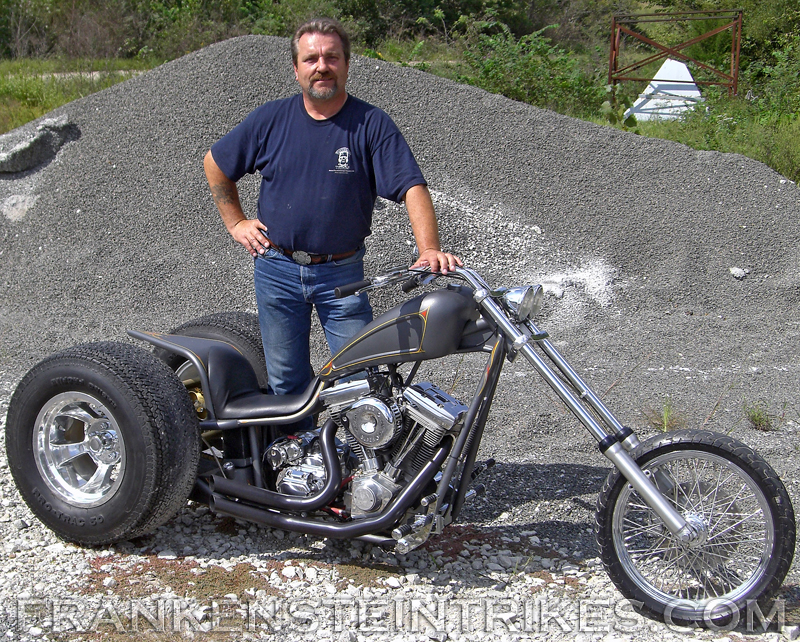 frankenstein trikes trike conversion kit custom photo