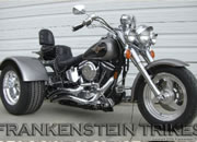 Softail Fatboy Trike Kit picture Frankenstein Trikes Trike kit Photos