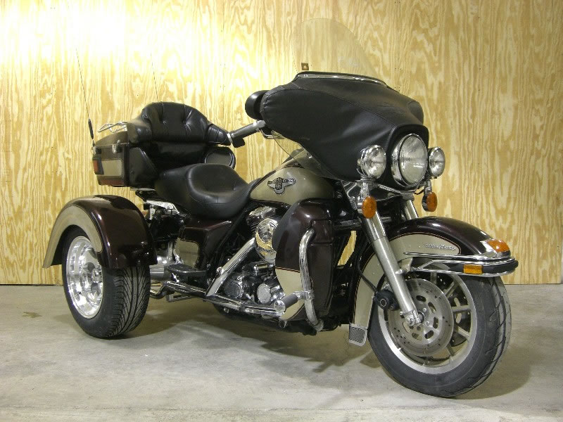 frankenstein trike kit on electraglide