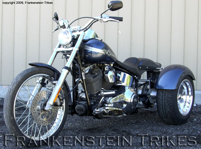softail custom trike kit