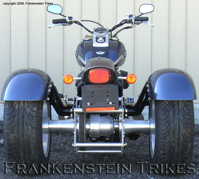 softail trike kit frankenstein trikes on custom