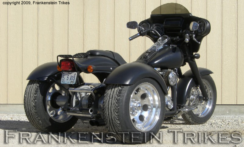 Softail Trike Kit picture Frankenstein Trikes Photos