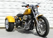 harley-davidson sportster trike conversion photo