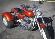 Frankenstein Trike Conversion for harley Davidson Sportster Photo