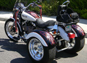 sportster trike conversion from frankenstein trikes