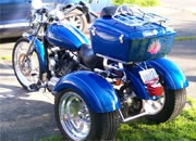 harley davidson sportser trike using frankenstein trike kit customer photo