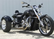 v rod muscle with frankenstein trike kit