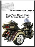 H-D Roadking trike conversion install manual