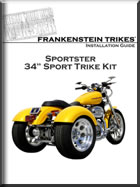 Sportster trike kit installation instructions