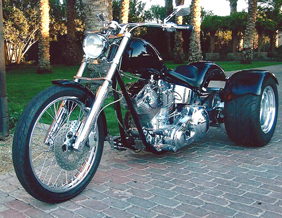 2008 Ultima 250 trike conversion with frankenstein trike kit
