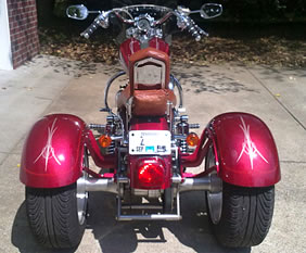 Customer reveiw frankenstein Trikes for harley-davidson Sportster Motorcycle Trike Kit