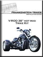 H-D V-rod trike conversion install manual